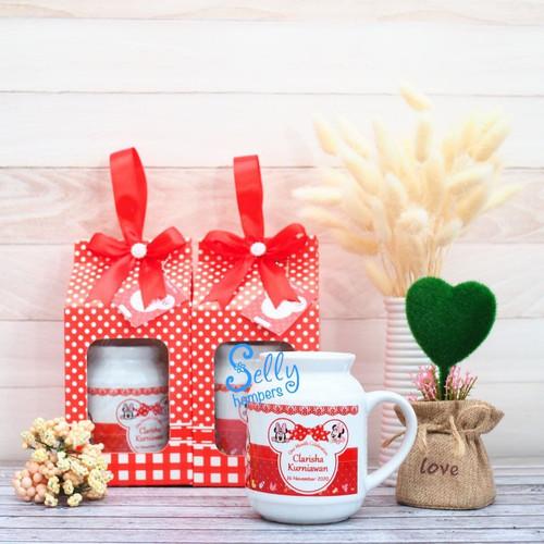 Foto Produk Souvenir Untuk Fabio/ souvenir ulang tahun/mug susu dari Selly Hampers