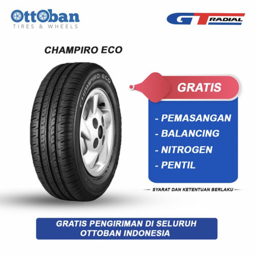 Foto Produk Ban GT Radial Champiro Eco ukuran 195/65 R15 dari ottoban indonesia