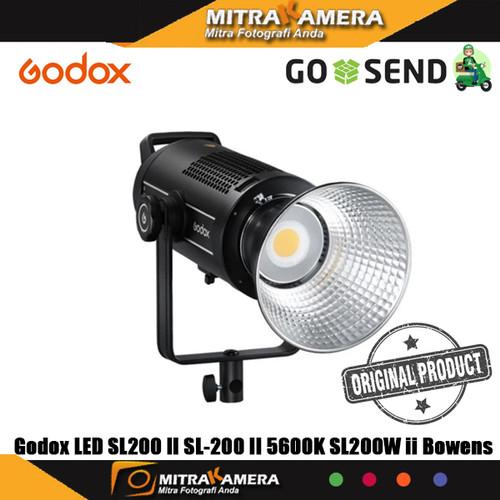 Foto Produk Godox LED SL200 II SL-200 II SL200W II 5600K Bowens dari mitrakamera