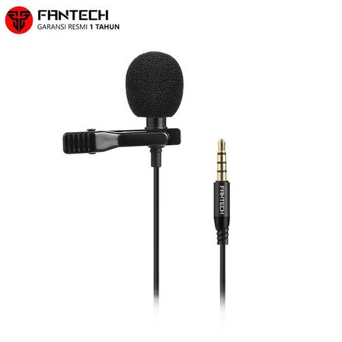 Foto Produk Mic Clip On Fantech Lavalier MV01 Microphone dari AKA Official