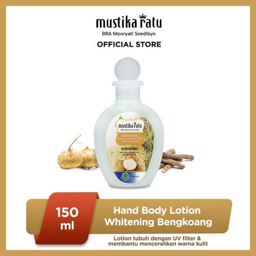 Foto Produk MUSTIKA RATU Bengkoang Whitening Pemutih Hand & Body Lotion 150ml dari Mustika Ratu