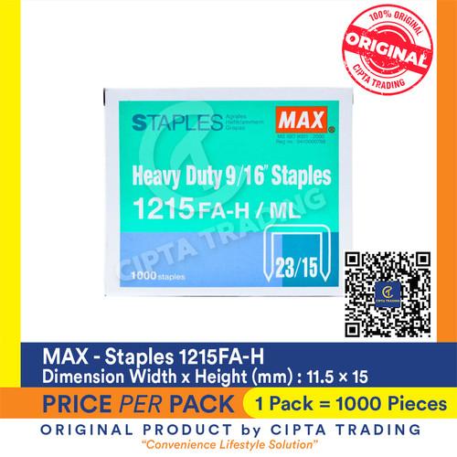 Foto Produk Staples MaX 1215FA-H dari Cipta Trading