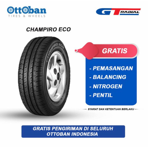 Foto Produk GT Radial Champiro Eco 155/70 R13 75T Ban Mobil dari ottoban indonesia