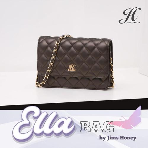 Foto Produk Jims Honey - Ella Sling Bag Tas Selempang Tas Pesta - Cokelat dari JIMS HONEY OFFICIAL
