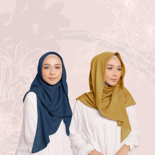 Foto Produk Hijab Wanita Sahara Scarf Voal Series 4 Diario - Amber Yellow dari diario