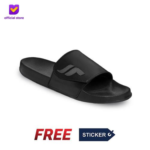 Foto Produk Sandal Slide Pria Footstep Footwear - Nexa Black Grey - 40 dari Footstep Footwear