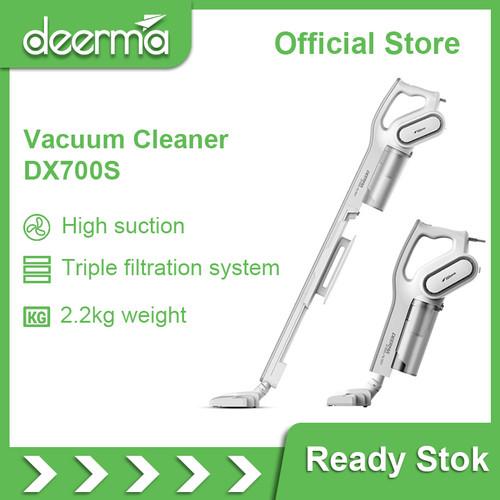 Foto Produk Deerma Dx700 2-in-1 Vertical Hand-held Vacuum Cleaner dari DEERMA OFFICIAL STORE ID