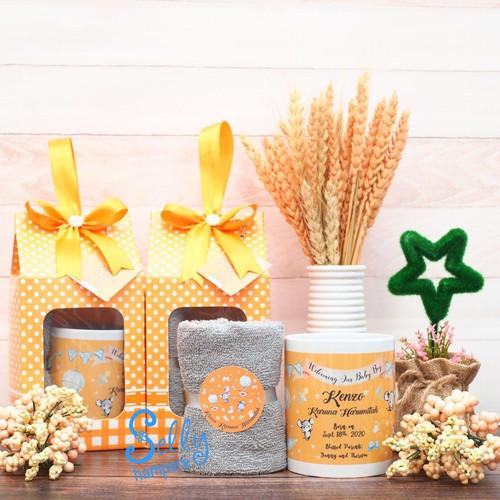 Foto Produk Souvenir Alberic/Souvenir Baby One Month/ dari Selly Hampers
