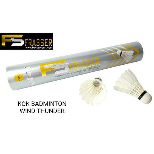 Foto Produk shuttlecock badminton kok bulutangkis frasser wind thunder imports dari Pusat Grosir OLAHRAGA