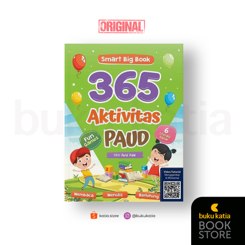 Foto Produk SMART BIG BOOK 365 AKTIVITAS PAUD dari Buku Katia