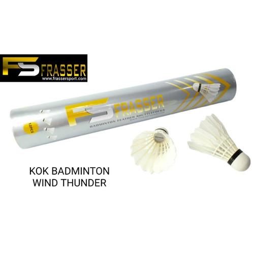 Foto Produk shuttlecock badminton kok bulutangkis frasser windthunder import dari zaffarsports