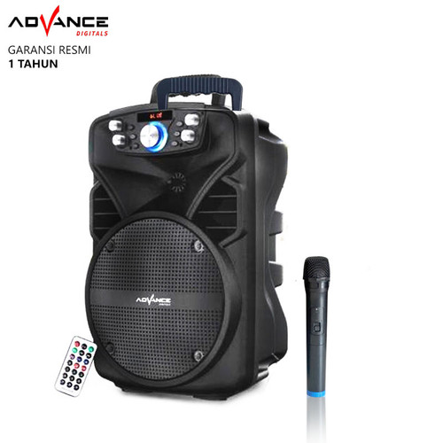 Foto Produk Speaker Bluetooth Advance H801n Speaker Portable with Mic - Mic Wireless dari Ridista Official Store