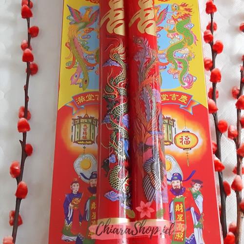 Foto Produk Lilin Sangjit 30 cm / Lilin Wedding / Lilin Merah dari Chiarashop_id