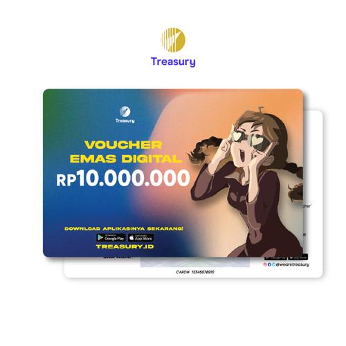 Foto Produk Voucher Emas Fisik Treasury - Rp10.000.000 dari Treasury Official Store