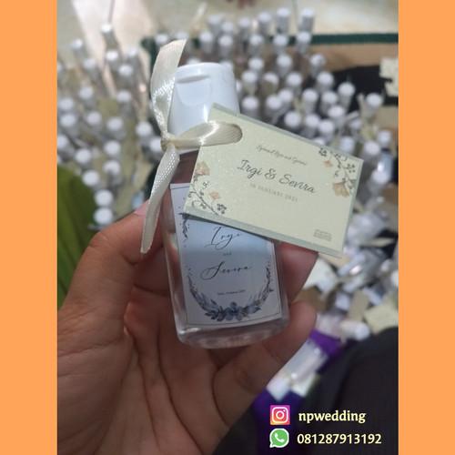 Foto Produk Souvenir Pernikahan / souvenir hand sanitizer - 30 ml dari npwedding