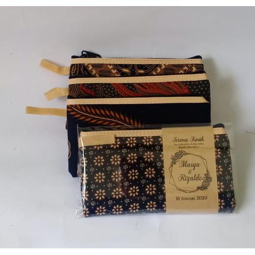 Foto Produk Souvenir pernikahan dompet batik / pouch dompet ibu FREE Kemas dan Kar - dompet saja dari TokoSouvenirPernikahan