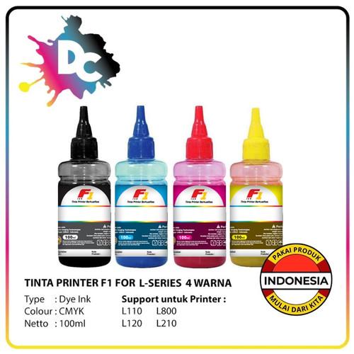 Foto Produk Tinta Printer F1 for Epson L-Series CMYK @100ml dari Dunia Cetak