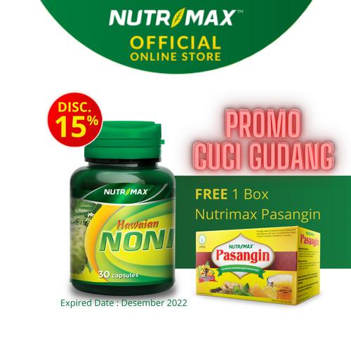 Foto Produk Nutrimax Hawaian Noni (30 Naturecaps) dari Nutrimax Official Store