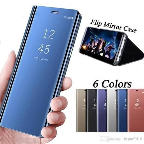 Foto Produk Flip Mirror Cover Clear View Samsung A12 New 2020 dari Grosir Murah AccHp