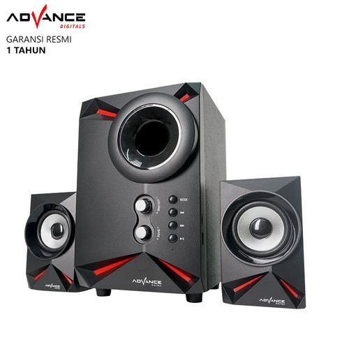 Foto Produk Speaker Advance Aktif Portable M180BT Bluetooth Subwoofer BASS -T398 - CLEON dari Ridista Official Store