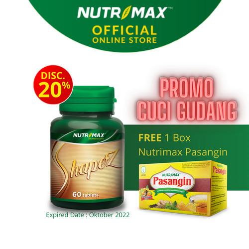 Foto Produk NUTRIMAX SHAPEZ ISI 60 TABLET dari Nutrimax Official Store
