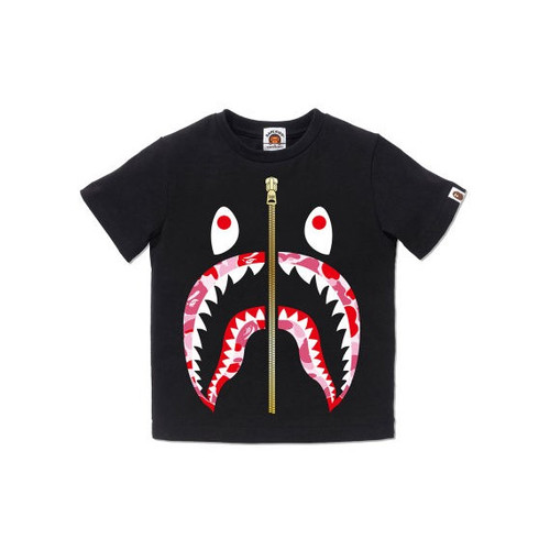 Foto Produk Bape Kids ABC Camo Shark tee - Black/Pink - 130 dari High Gentleman Lifestyle