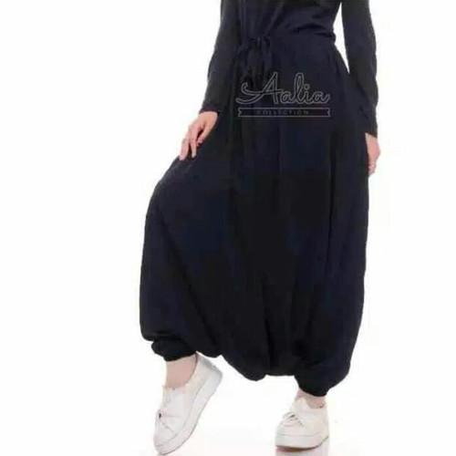 Foto Produk rok celana sirwal akhwat muslimah - Hitam dari Grosir Group