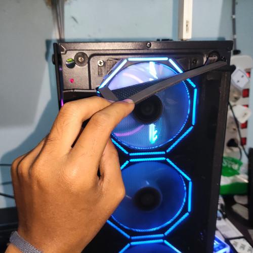Foto Produk magnetic magnet tape strip universal led strip fan case filter debu - lebar 1mm dari Sinar_Pratama Store