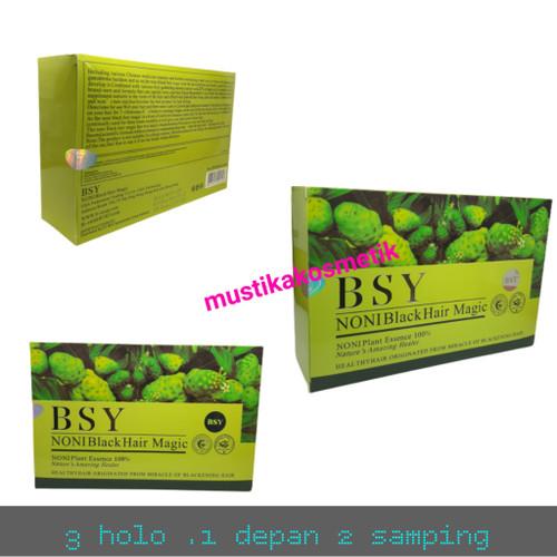 Foto Produk BSY NONI BLACK HAIR MAGIC ORI (3 LOGO) dari mustika kosmetik shop