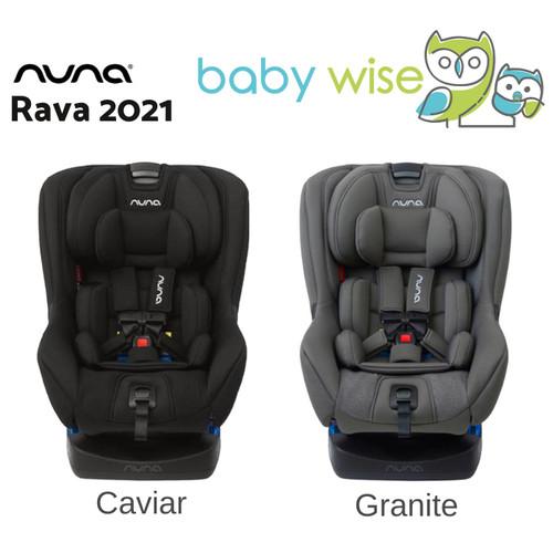 Foto Produk Nuna Rava Convertible Car Seat - Caviar 2021 dari Baby Wise