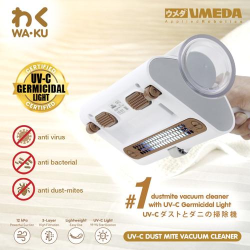 Foto Produk Umeda Waku UV-C Dustmite / Vacuum Cleaner / Vacum - Putih dari UMEDA