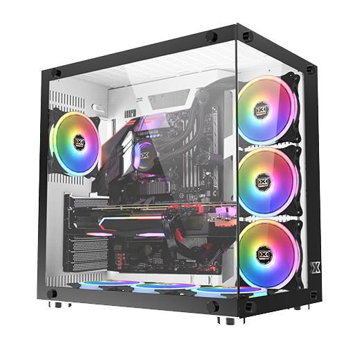 Foto Produk CASING GAMING Xigmatek Aquarius Plus-White-PC Gaming Case dari AL computerr
