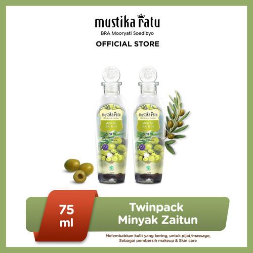 Foto Produk [Mustika Ratu] Twinpack Minyak Zaitun 75ml BEST SELLER dari Mustika Ratu