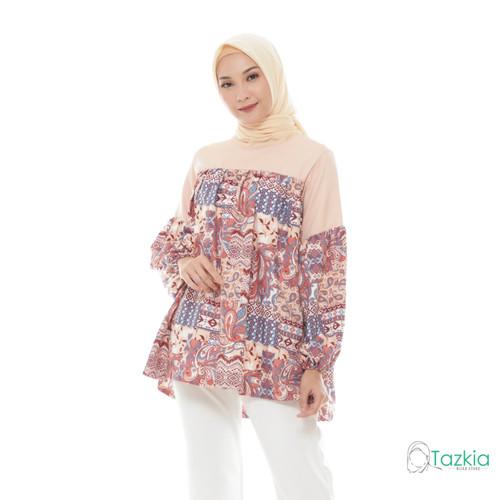 Foto Produk Atasan Muslim Wanita | Salwa Blouse | S M L XL | Tazkia Hijab - L dari Tazkia Hijab Store