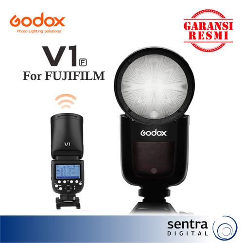 Foto Produk Godox Speedlite TTL Li-ion Round Head Camera V1F (for fujifilm) dari Sentra Digital