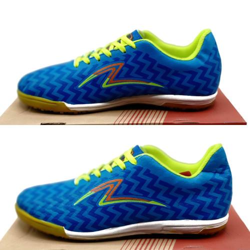 Foto Produk Sepatu futsal specs sepatu futsal pria sepatu olahraga - biru hijau, 39 dari GRAND ID