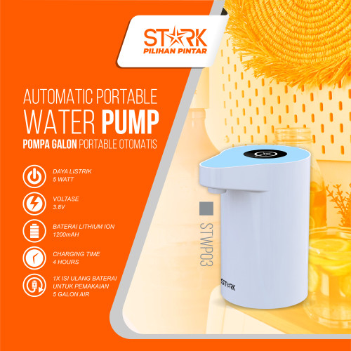 Foto Produk STARK Pompa Galon Elektrik - STWP03 - Biru Muda dari STARK Indonesia