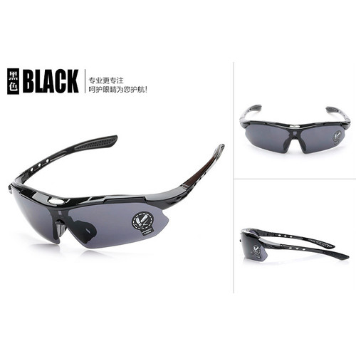 Foto Produk kacamata sepeda uv 400 - Hitam dari eibag Indonesia Official Shop