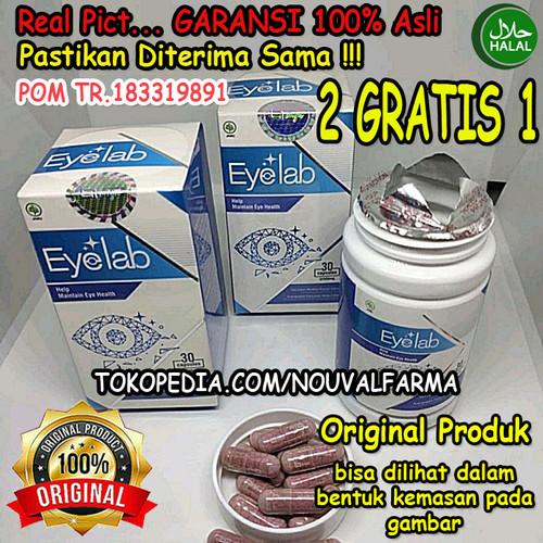 Foto Produk Eyelab Asli Herbal Original Obat Mata Atasi Mata Minus Plus Resmi BPOM dari NouvalFarma
