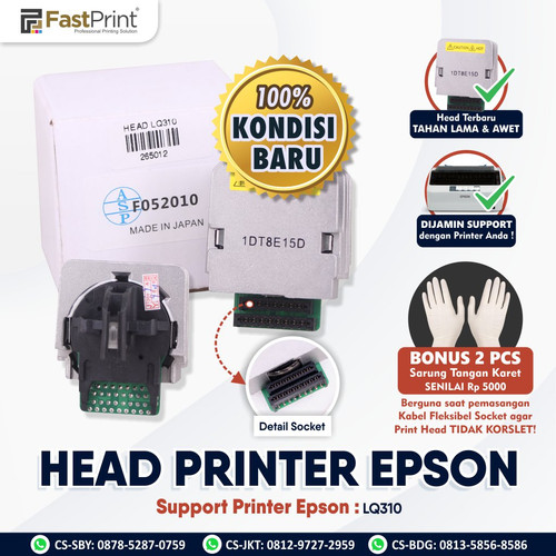 Foto Produk Fast Print Head Printer Original Epson LQ310 dari Fast Print Indonesia