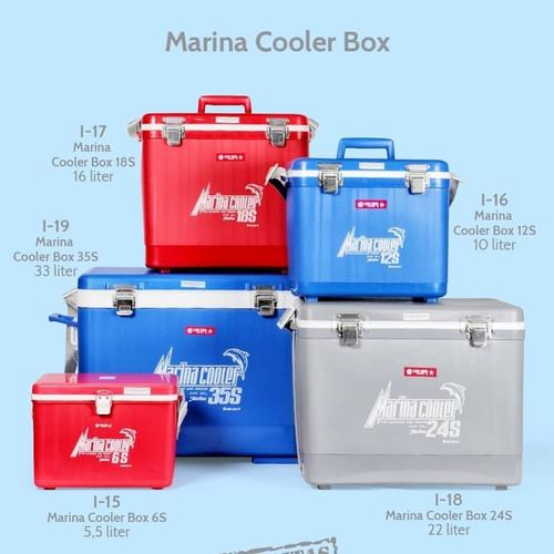 Foto Produk Marina Cooler Box 18s Box Es Lionstar dari Nusantara Houseware