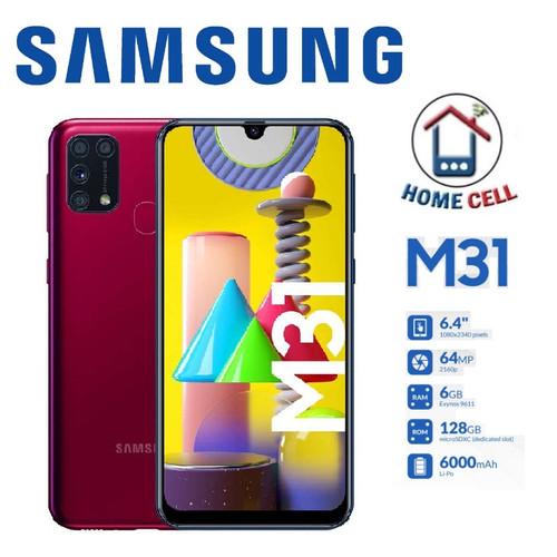Foto Produk Samsung Galaxy M31 Ram 6/128 GB - Garansi Resmi - Hitam dari Home Cell