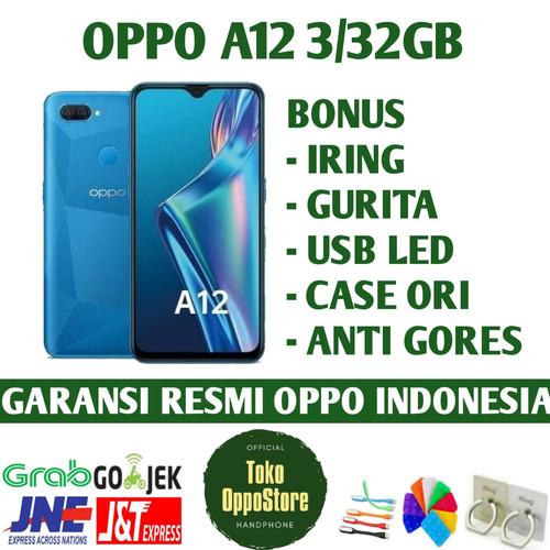 Foto Produk oppo A12 3/32GB Garansi Resmi Oppo Indonesia - abu abu dari toko oppostore
