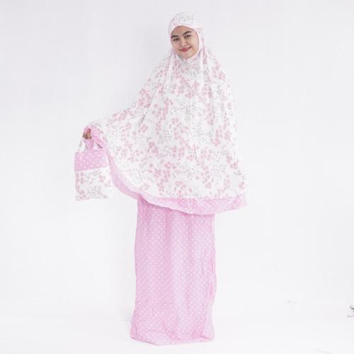 Foto Produk Mukena Bali Dewasa melinda - pink dari alfauzicollection