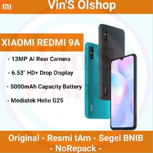 Foto Produk Xiaomi Redmi 9a 3/32 Resmi Tam - Biru, 3GB-32GB dari vin's olshop