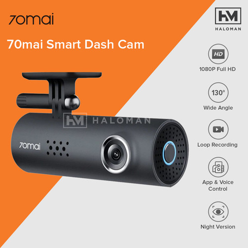 Foto Produk XIAOMI 70 Mai Pro Dash Cam 1s HD Car DVR Camera 1080P HD Night Vision dari haloman.id