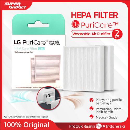 Foto Produk Hepa Filter masker LG PuriCare Wearable Air Purifier Original Resmi LG dari SUPER_GADGET