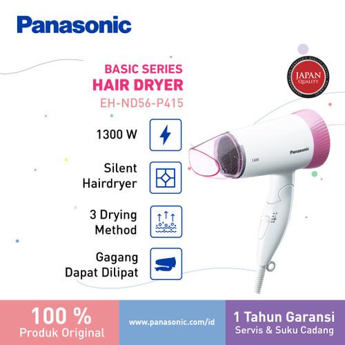 Foto Produk Panasonic Silent Hair Dryer ND56 Pengering Rambut 1300 Watt dari Panasonic Beauty
