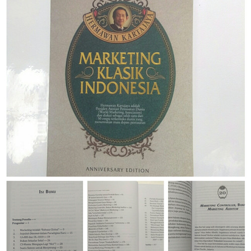 Foto Produk Buku Marketing Klasik Indonesia - Hermawan Kartajaya dari Taman Lestari