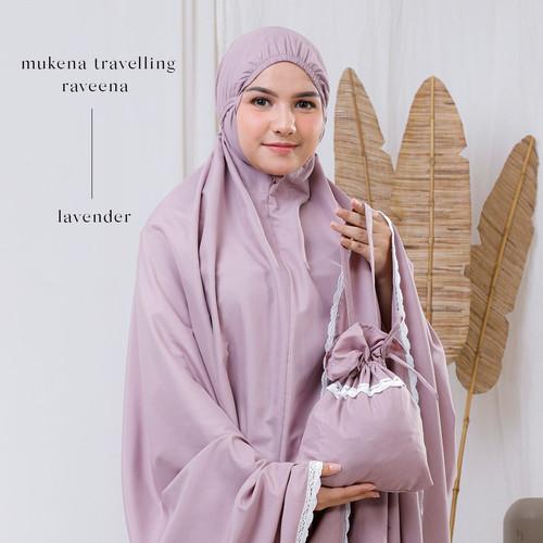 Foto Produk MUKENA DEWASA TRAVELLING KATUN RAVEENA (LAVENDER) dari Pusat Mukena Indonesia